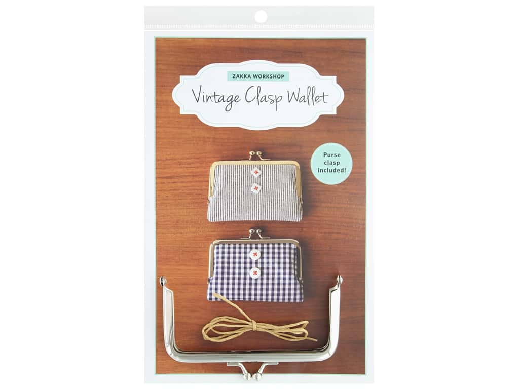 Zakka Workshop Kit Vintage Clasp Wallet