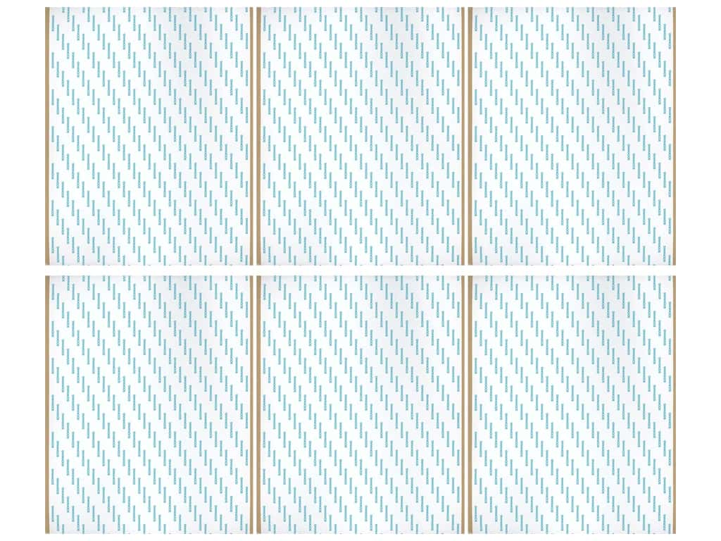 Scor Pal Scor Tape Double Sided Adhesive Sheet 8.5 in. x 11 in. 6 pc