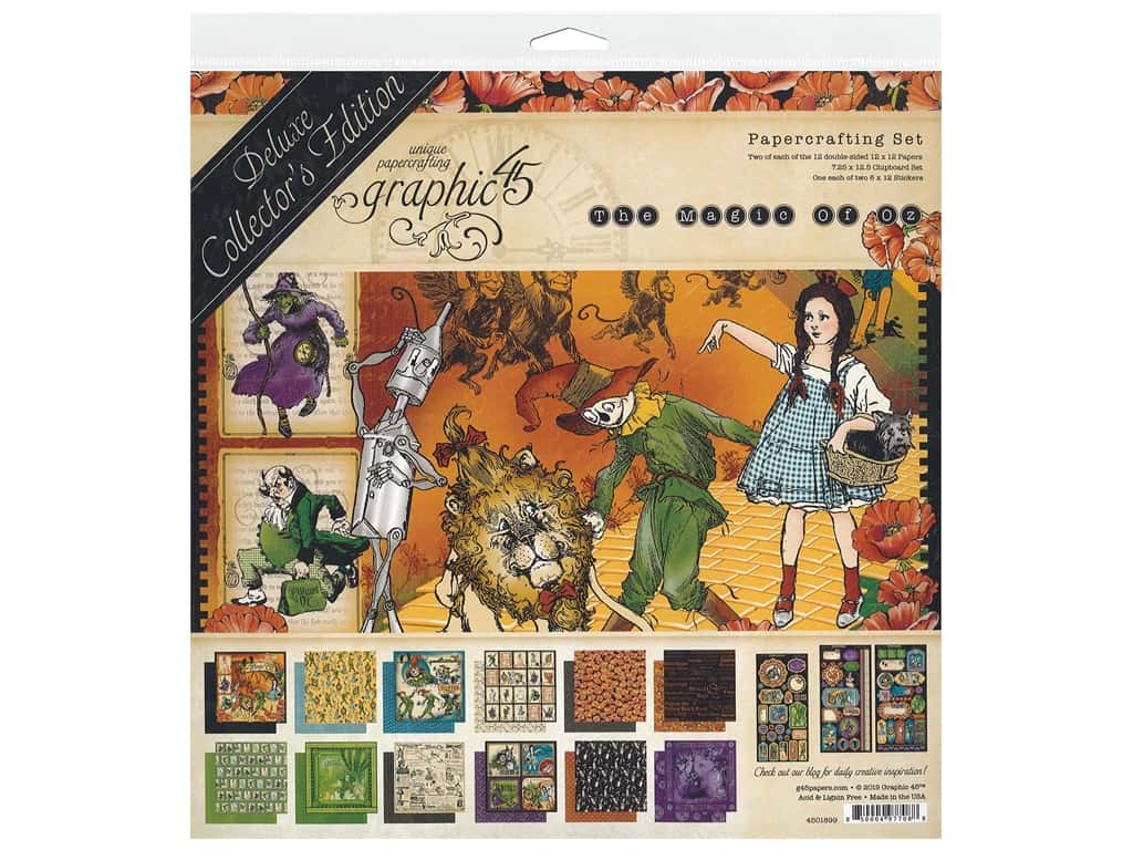 Graphic 45 Deluxe Collectors Edition Magic Of Oz