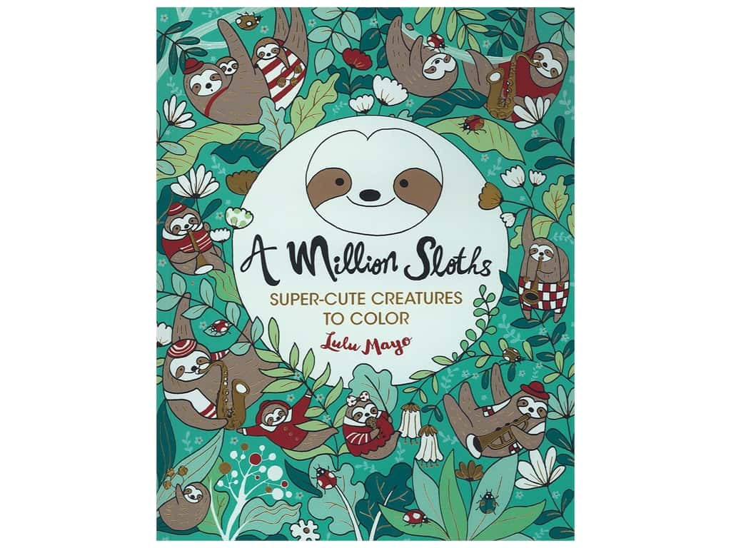 Lark A Million Sloths Coloring Book