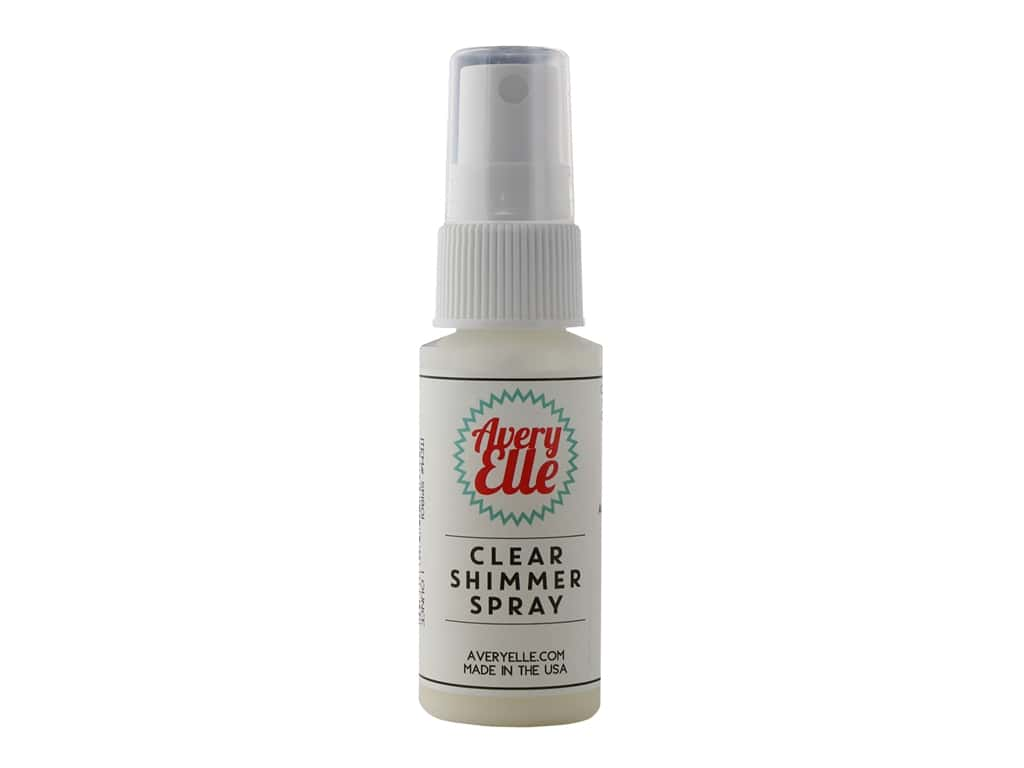 Avery Elle Shimmer Spray 1 oz Clear