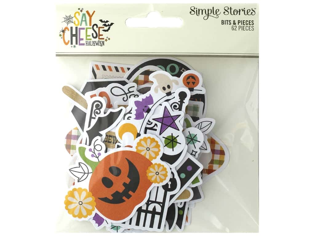 Simple Stories Collection Say Cheese Halloween Bits & Pieces