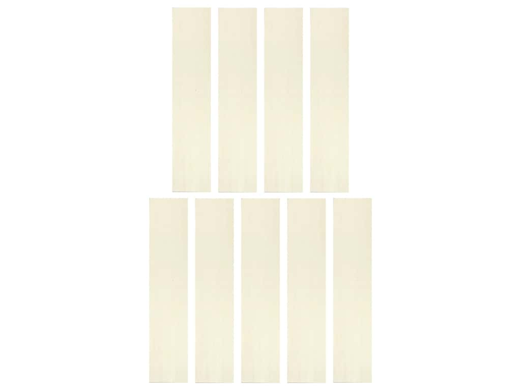 Wood Garden Stake 2.5 in. x 12 in. Rectangle Natural 9 pc