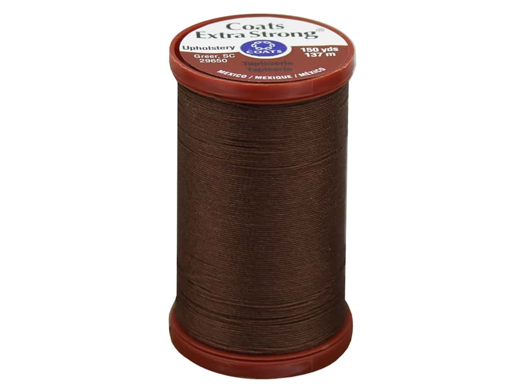 Coats Extra Strong Upholstery Nylon Thread 150 yd. London Tan