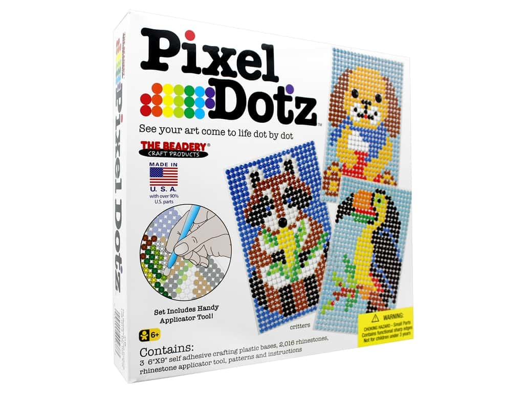The Beadery Kit Pixel Dotz Critters