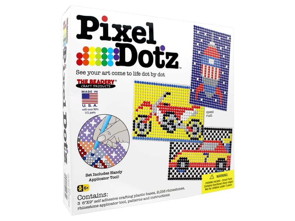 The Beadery Kit Pixel Dotz Speed Rush