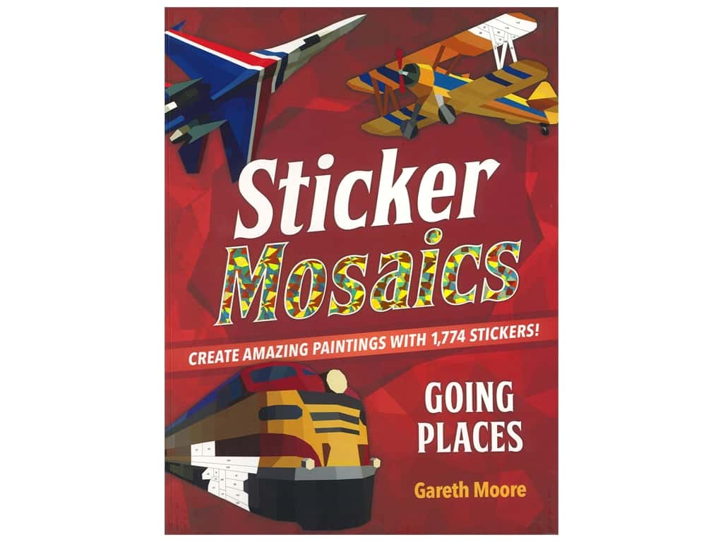 Castle Point Sticker Mosaics Going Places Book