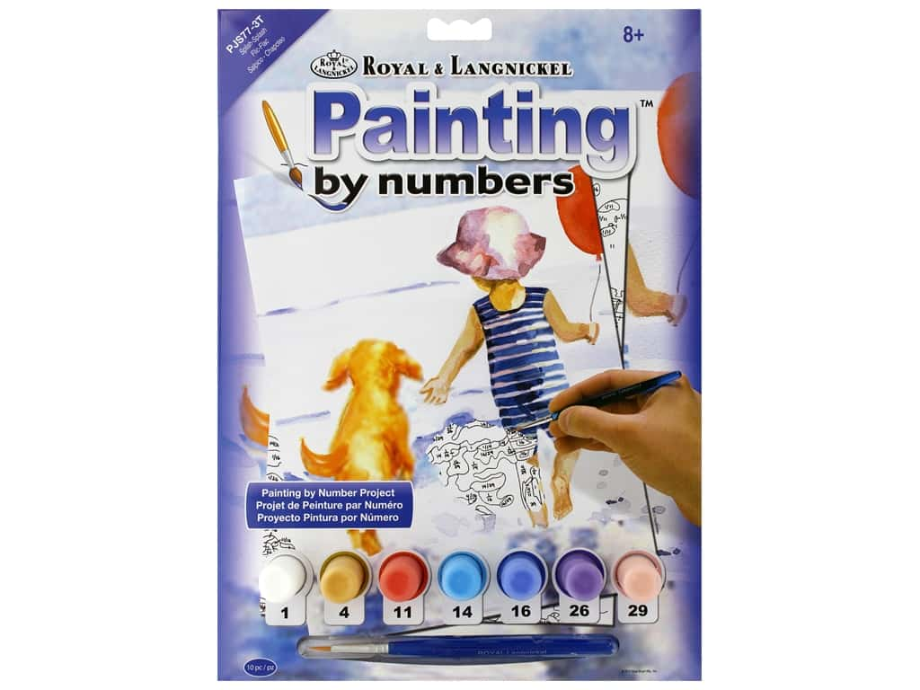 Royal Paint By Number Junior Small Splish Splash