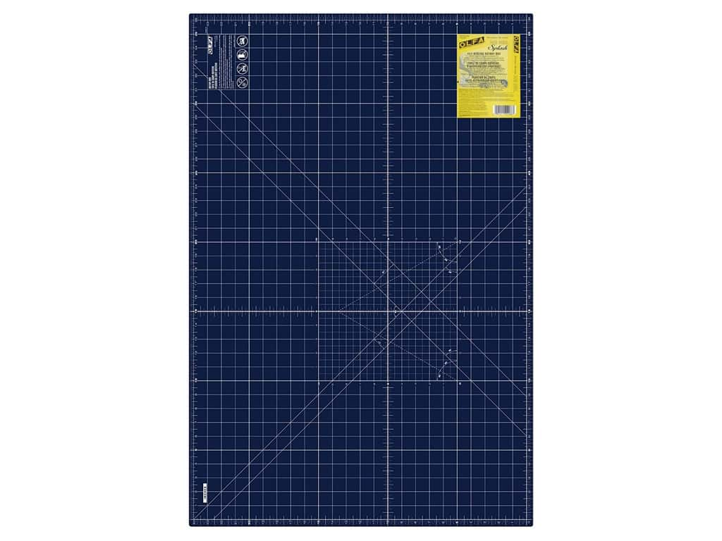 Olfa Cutting Mat 24 x 36 in. Navy Blue