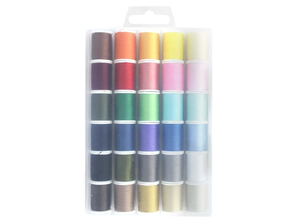 Allary All Purpose Polyester Thread 50 yd With Case 30 pieces