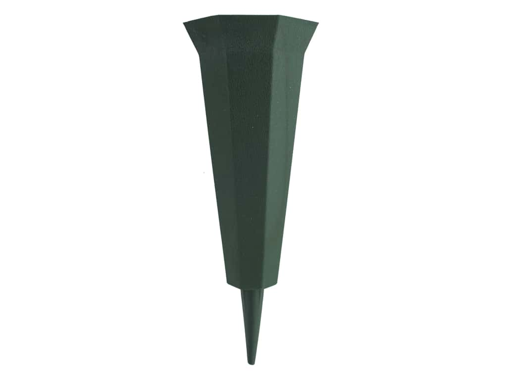 FloraCraft Memorial Vase Green