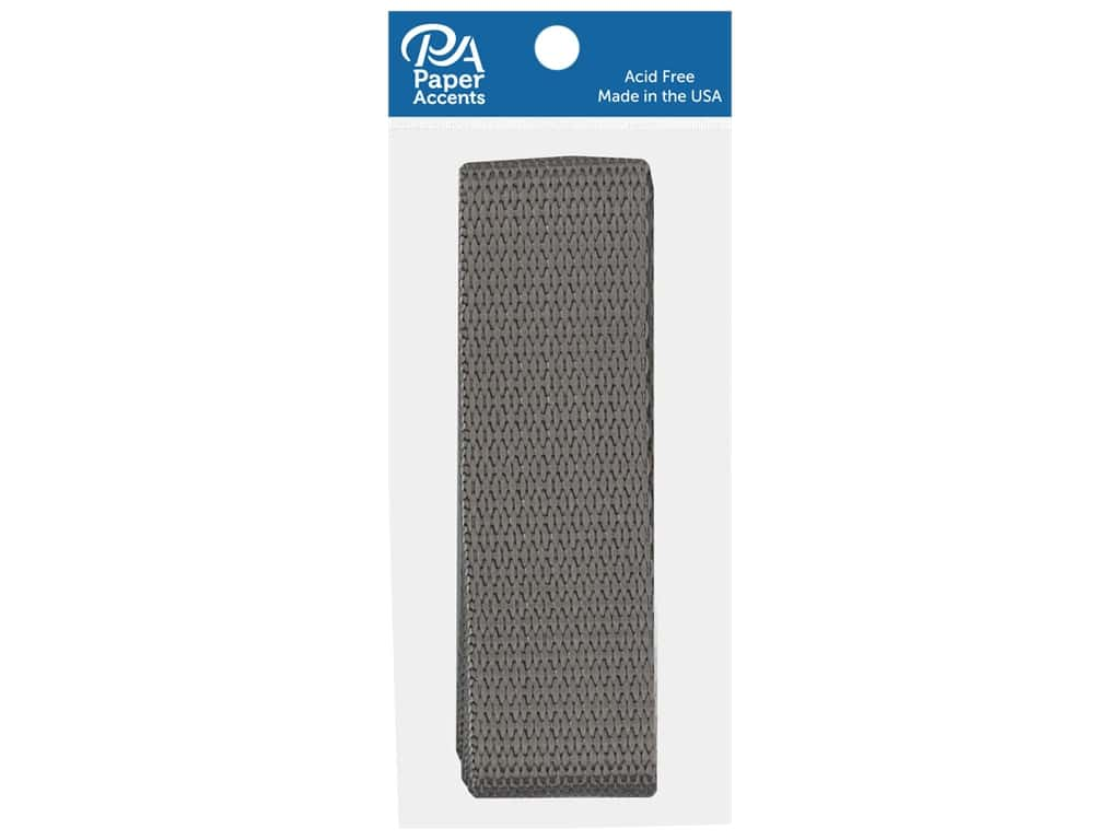 PA Essentials Polypropylene Webbing 1 x 36 in. Smoke Gray