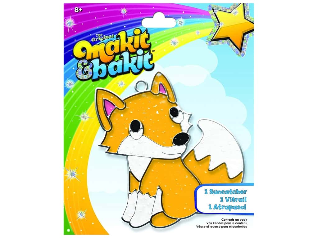 Colorbok Kit Makit & Bakit Suncatcher Fox
