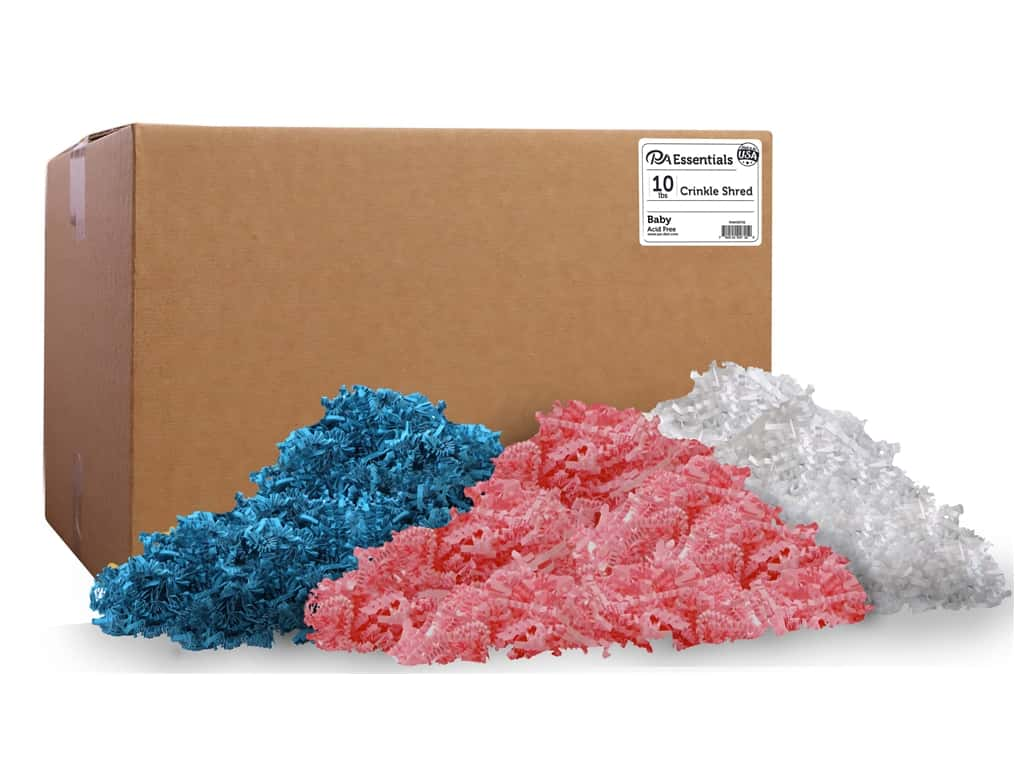 PA Essentials Crinkle Shred 10 lb. Baby