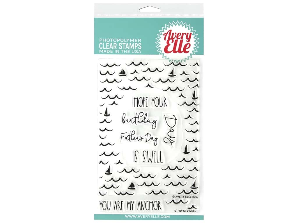 Avery Elle Clear Stamp Swell