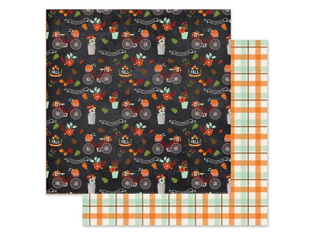 "Echo Park Collection My Favorite Fall Paper 12""x 12"" Fall In Air (25 pieces)"