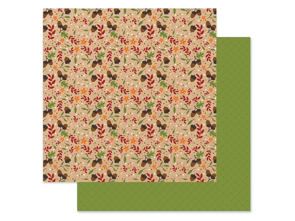 "Echo Park Collection My Favorite Fall Paper 12""x 12"" Autumn Acorn (25 pieces)"
