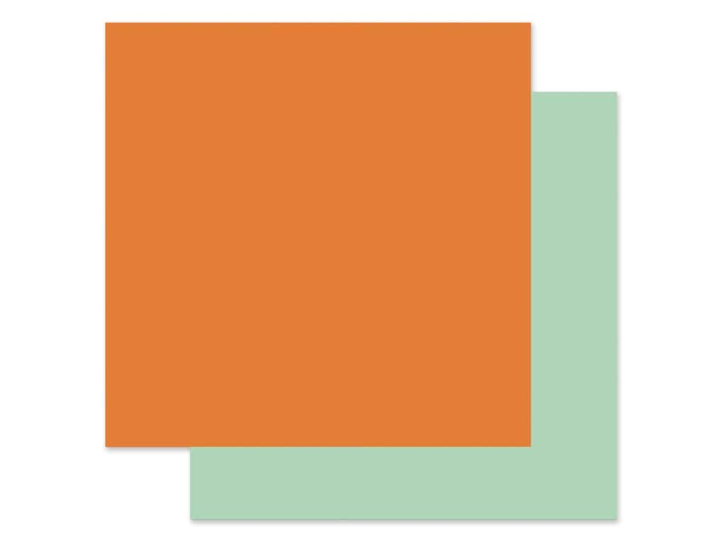 "Echo Park Collection My Favorite Fall Paper 12""x 12"" Orange/Mint (25 pieces)"