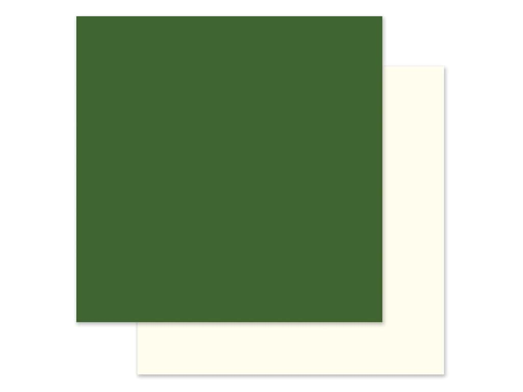 """Echo Park Collection Trick Or Treat Paper 12""""x 12"""" Green/Cream (25 pieces)"""
