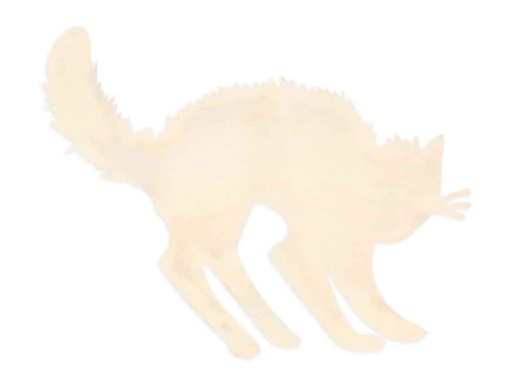 Darice Wood Cut Out Cat 9.25 in. x 8.25 in.