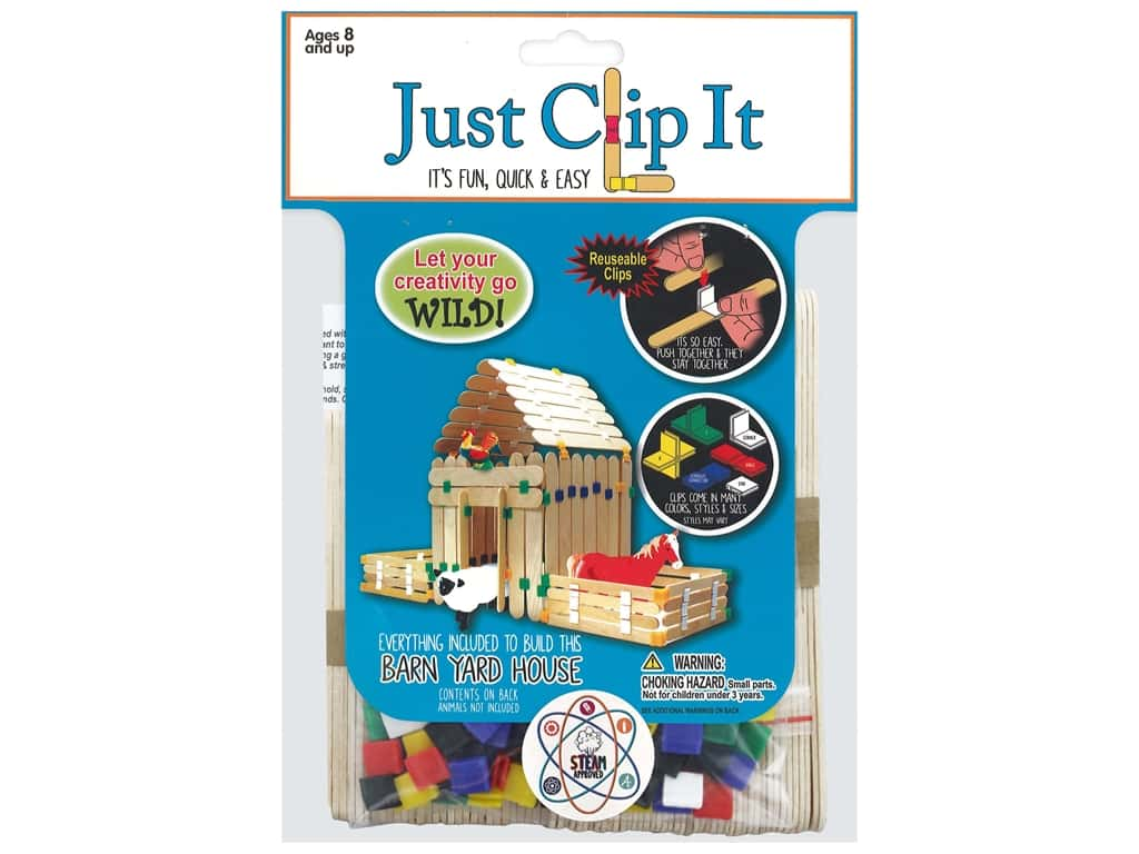 Pepperell Kit Wood Just Clip It Barn Yard House