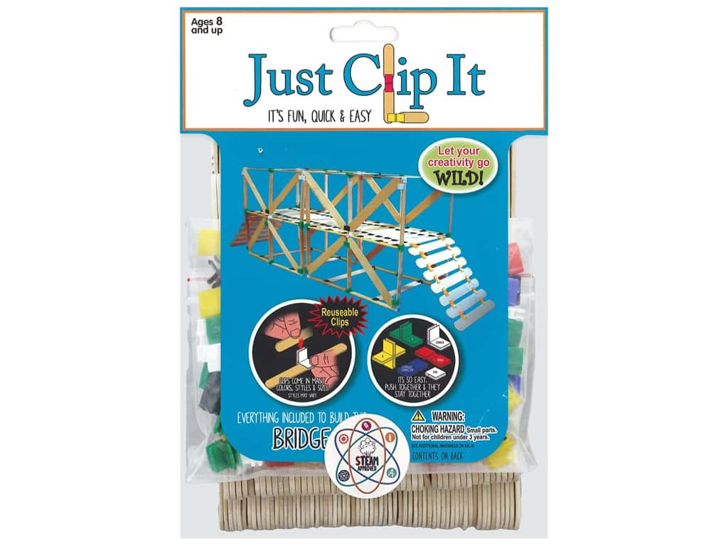Pepperell Kit Wood Just Clip It Bridge
