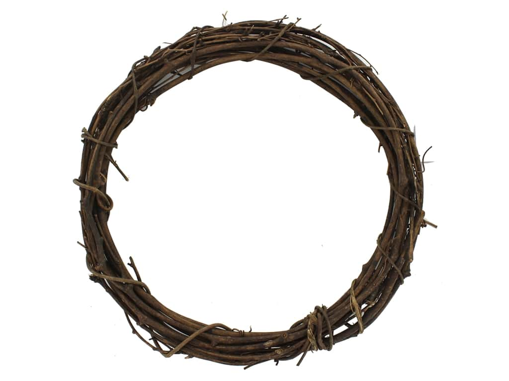 Darice Wreath Grapevine 12 in.