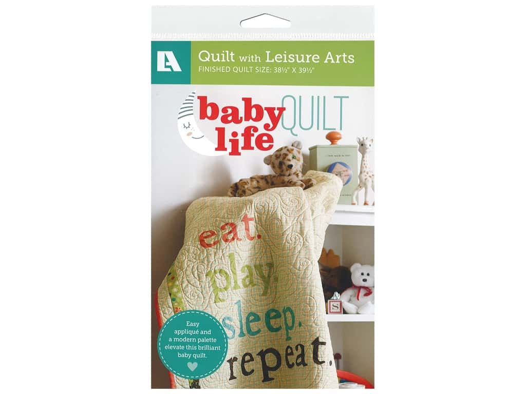 Leisure Arts Baby Life Quilt Pattern