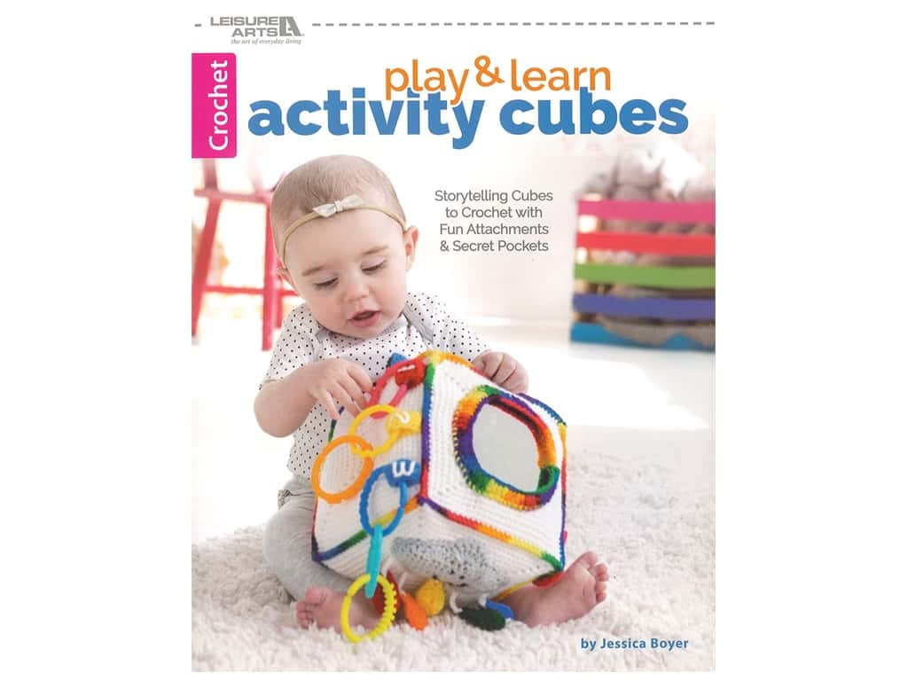 Leisure Arts Play & Learn Activity Cubes Book