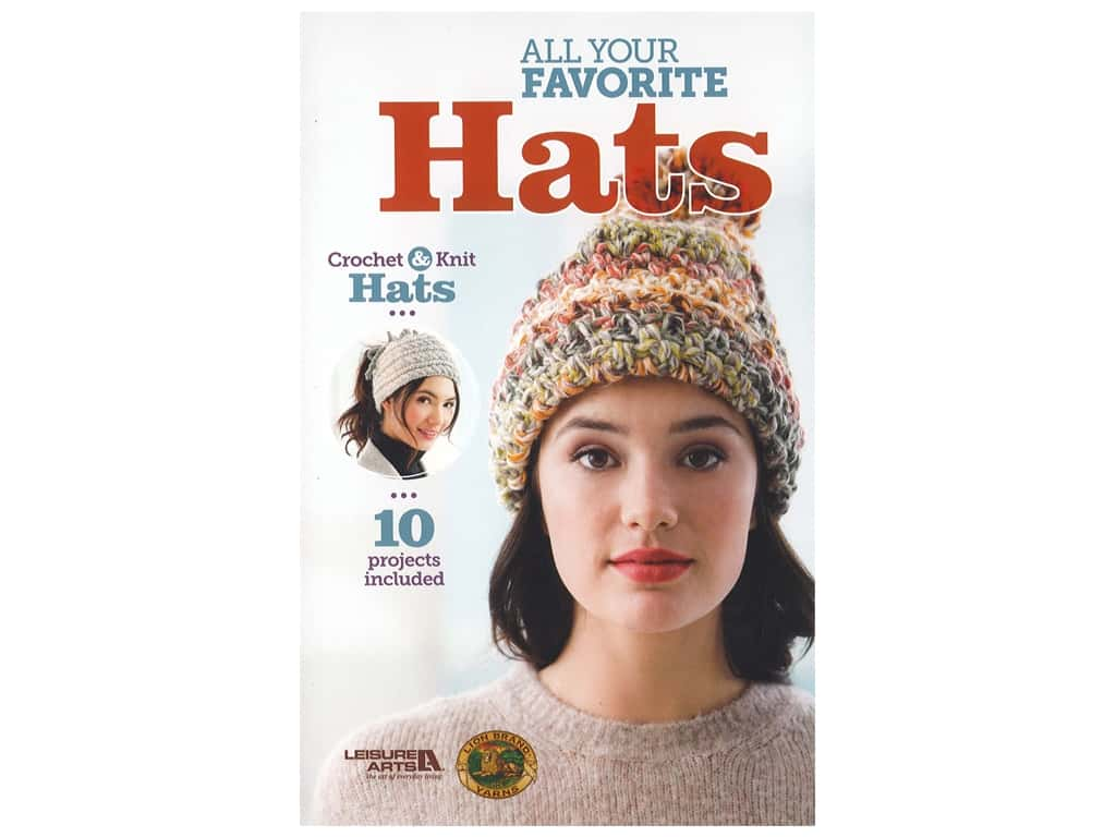 Leisure Arts All Your Favorite Hats Book
