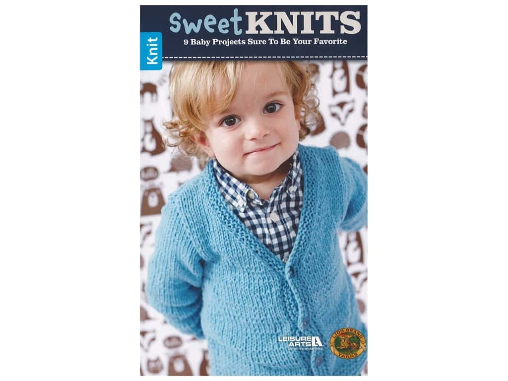 Leisure Arts Sweet Knits Book