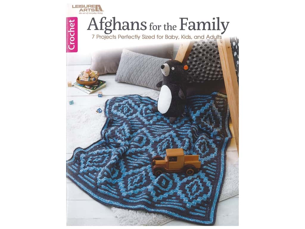 Afghans for the Family Crochet Book