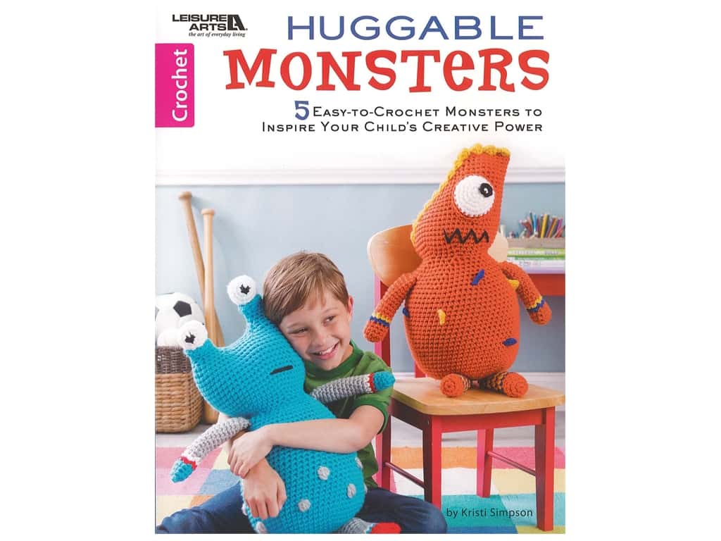 Huggable Monsters Crochet Book