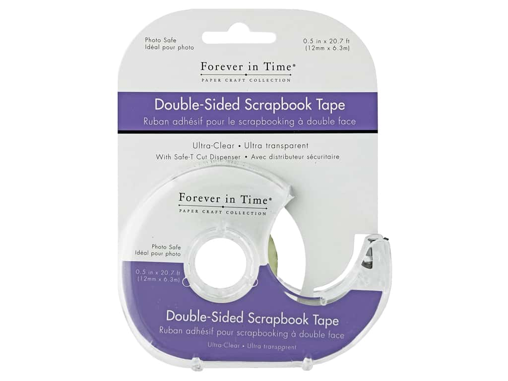 Multicraft Adhesive Tape Double Side 248 in. Ultra Clear