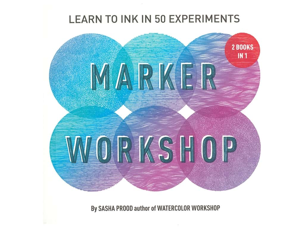 Marker Workshop 2 Books In 1 Book