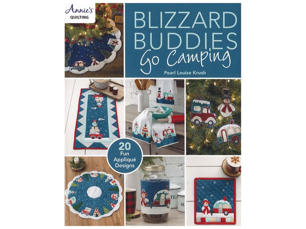 Blizzard Buddies Go Camping Book