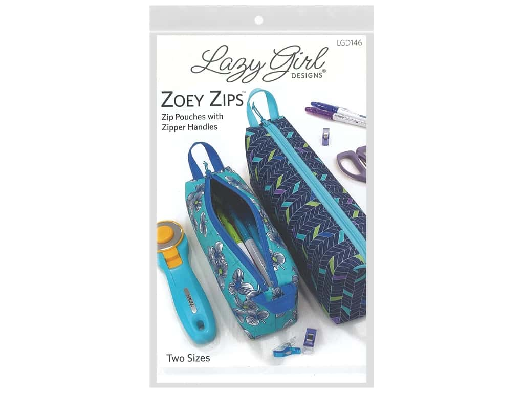Lazy Girl Designs Zoey Zips Pattern