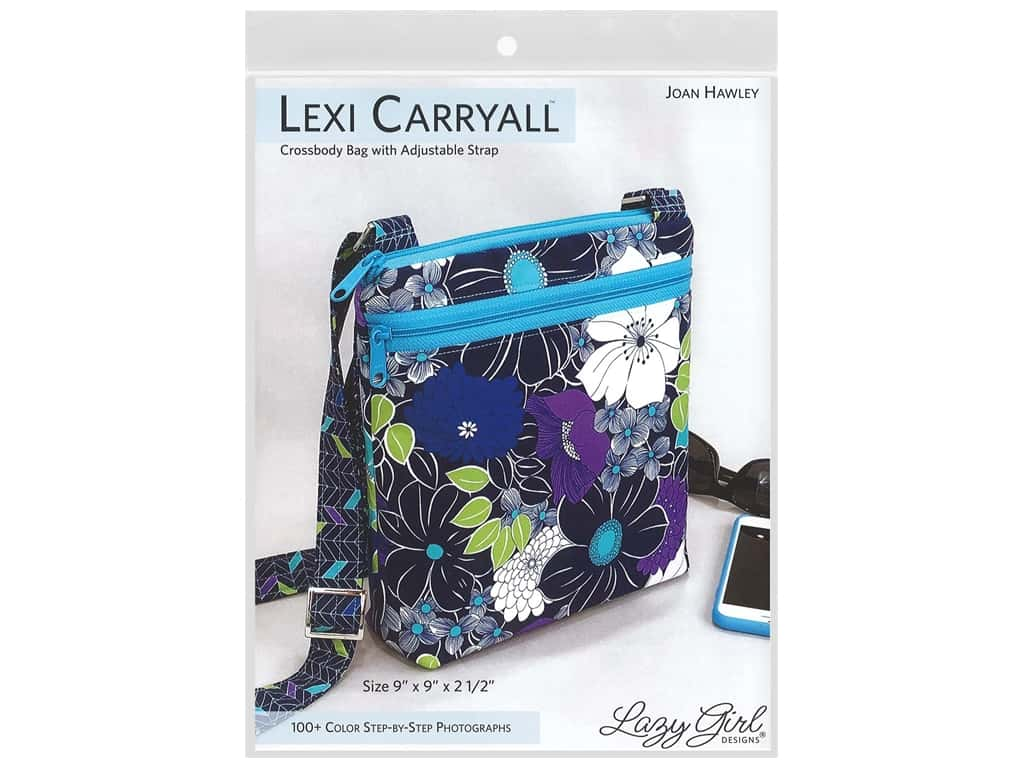 Lazy Girl Designs Lexi Carryall Booklet Pattern