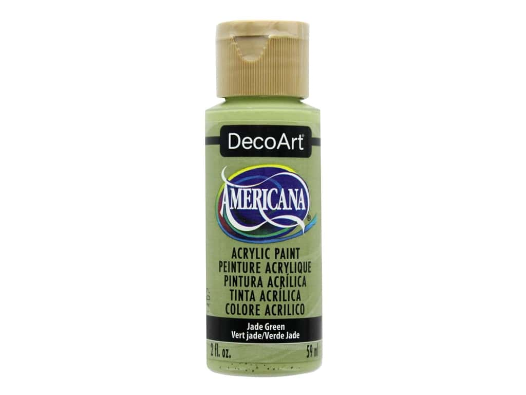 DecoArt Americana Acrylic Paint 2 oz. #057 Jade Green