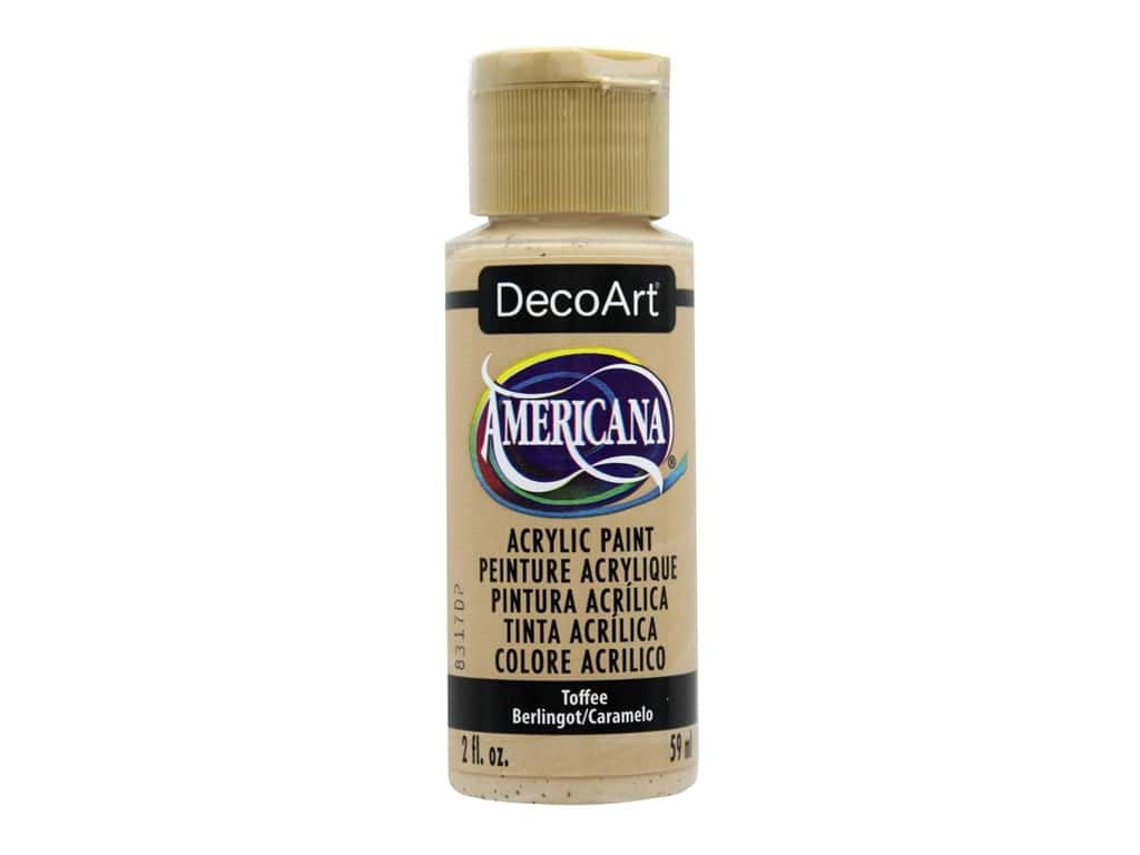 DecoArt Americana Acrylic Paint - #059 Toffee 2 oz.
