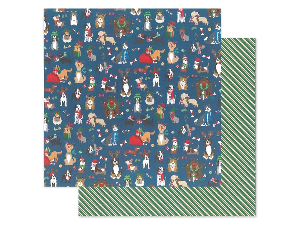 Photo Play 12 x 12 in. Paper Muttcracker Happy Howlidays (25 pieces)