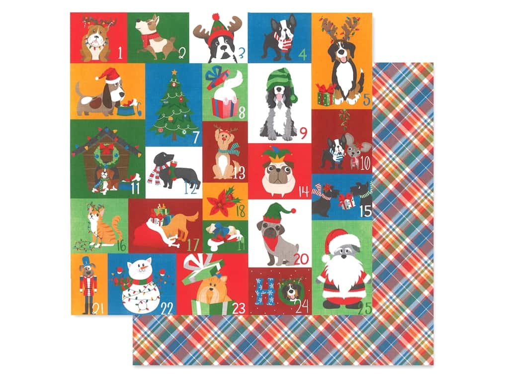Photo Play 12 x 12 in. Paper Muttcracker Countdown (25 pieces)