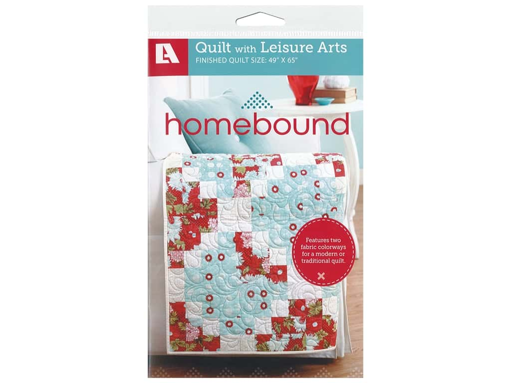 Leisure Arts Homebound Quilt Pattern