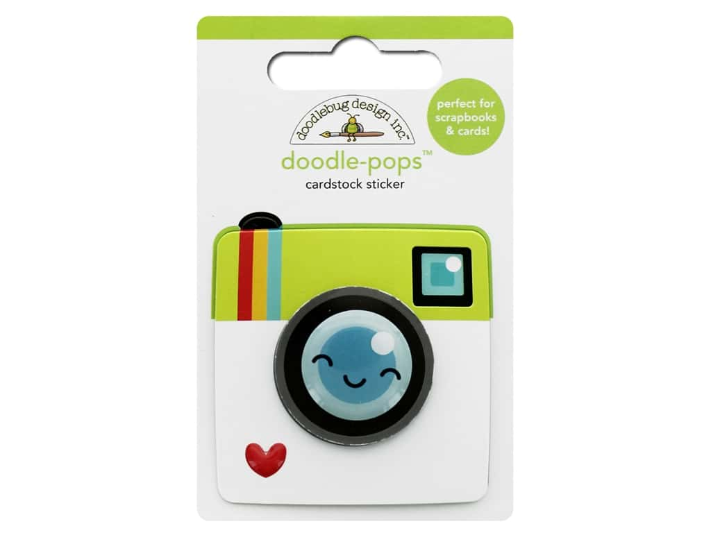 Doodlebug Collection I Heart Travel Doodle Pops Picture Perfect