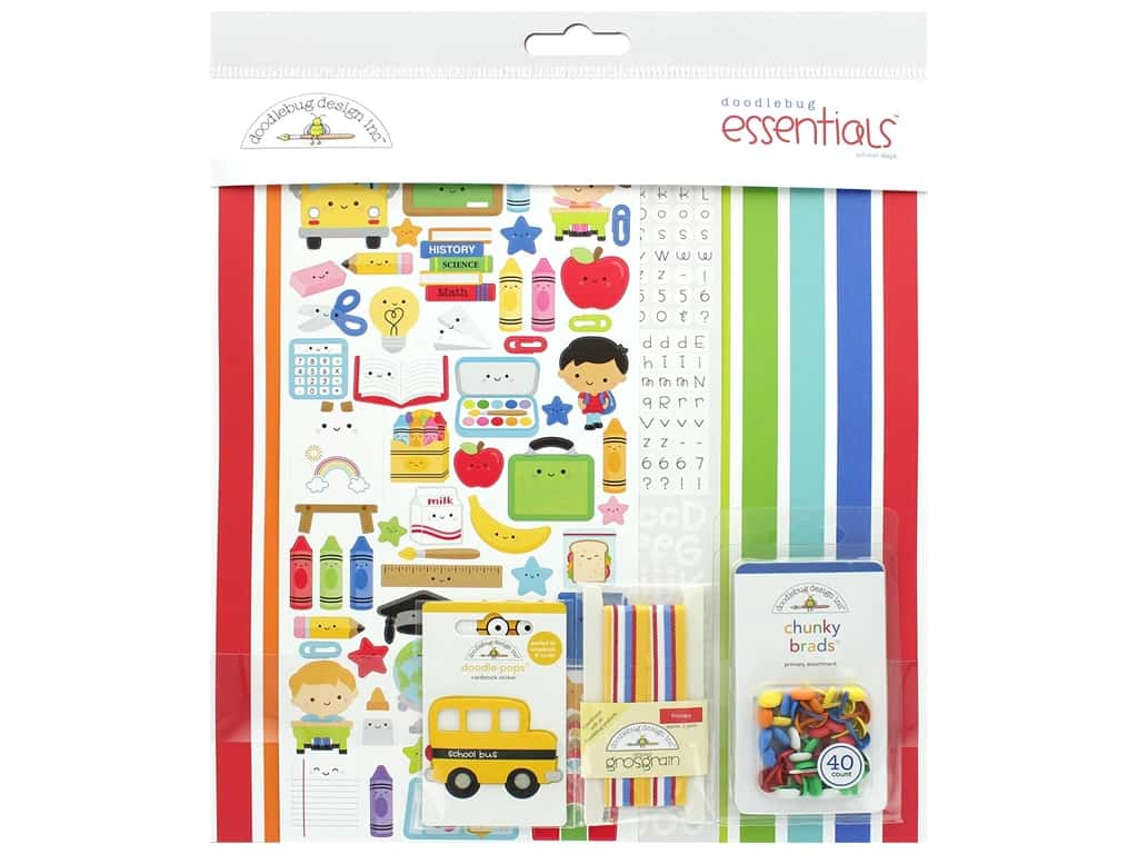 Doodlebug Collection School Days Essentials Kit