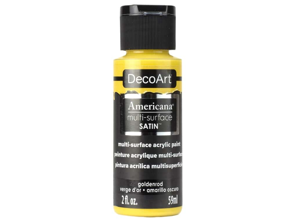 DecoArt Americana Multi-Surface Acrylics - #576 Goldenrod 2 oz.