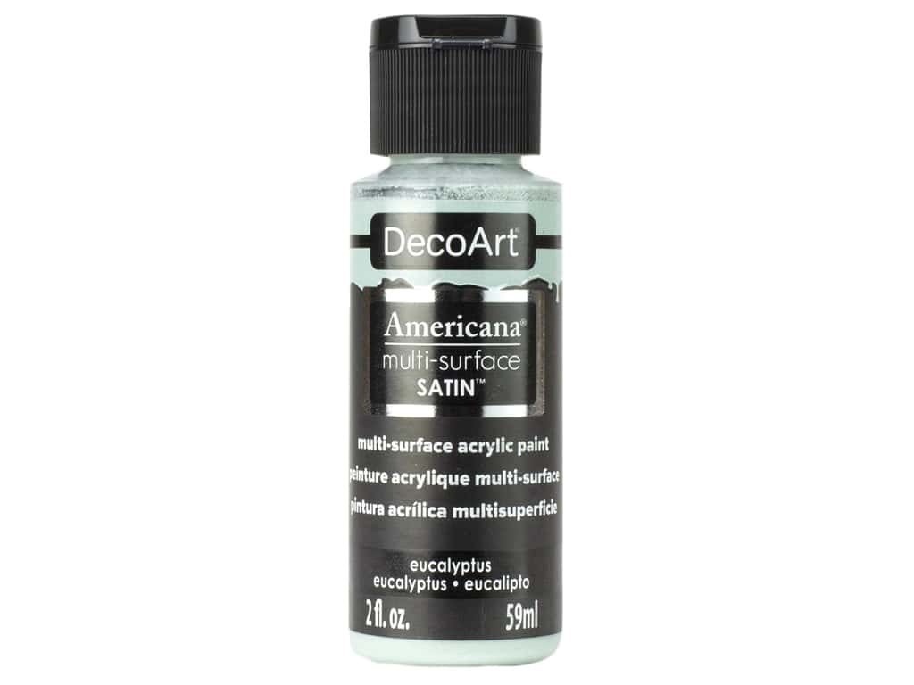 DecoArt Americana Multi Surface Acrylic Paint 2 oz Satin Eucalyptus