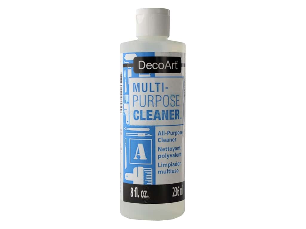 DecoArt Painting Accessories Multi-Purpose Cleaner 8 oz