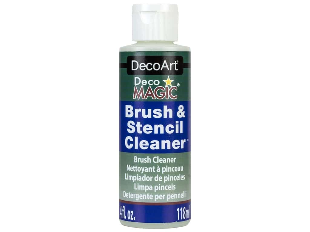 DecoArt DecoMagic Brush & Stencil Cleaner 4 oz