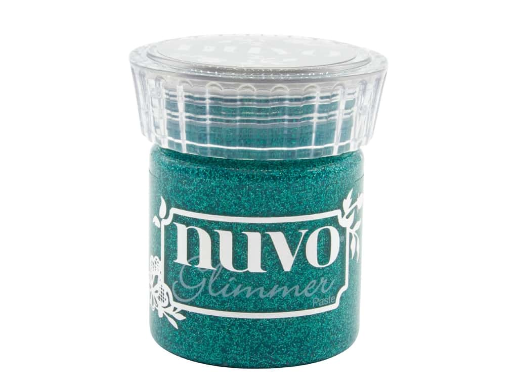 Nuvo Glimmer Paste 1.7 oz Esmeralda Green
